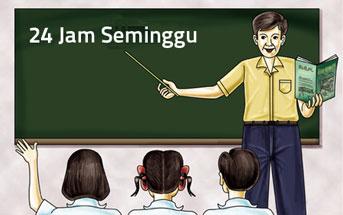 Syarat Mengajar 24 Jam Per Minggu tak Bisa Ditawar