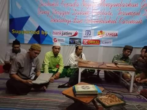Khotmil Qur'an Hari Jadi MTsN 1 Kediri ke 51